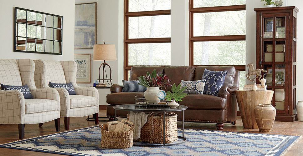 Modern & Contemporary Living Room Design Copy This From Birchlane Captivating Modern And Contemporary Living Room Designs Decorating Design