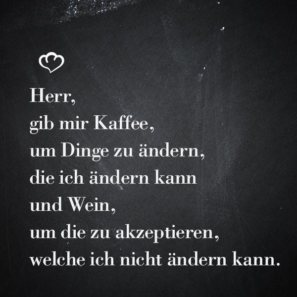 Wein #Kaffee #Sprüche #Zitate | Coffee | Sprüche, Kaffee sprüche