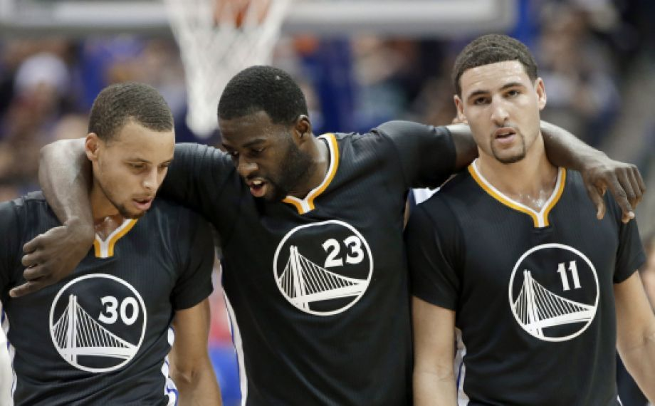 Draymond Green And Klay Thompson Hold Down Warriors In