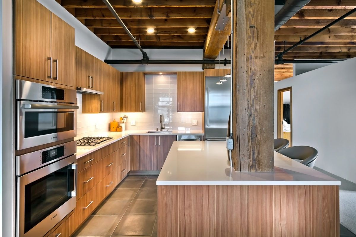 Vertical Grain Kitchen Cabinets Modern Kitchens Kitchen
