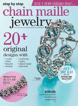 Crystal Helix Chain Maille Bracelet Collection   InterweaveStore.com