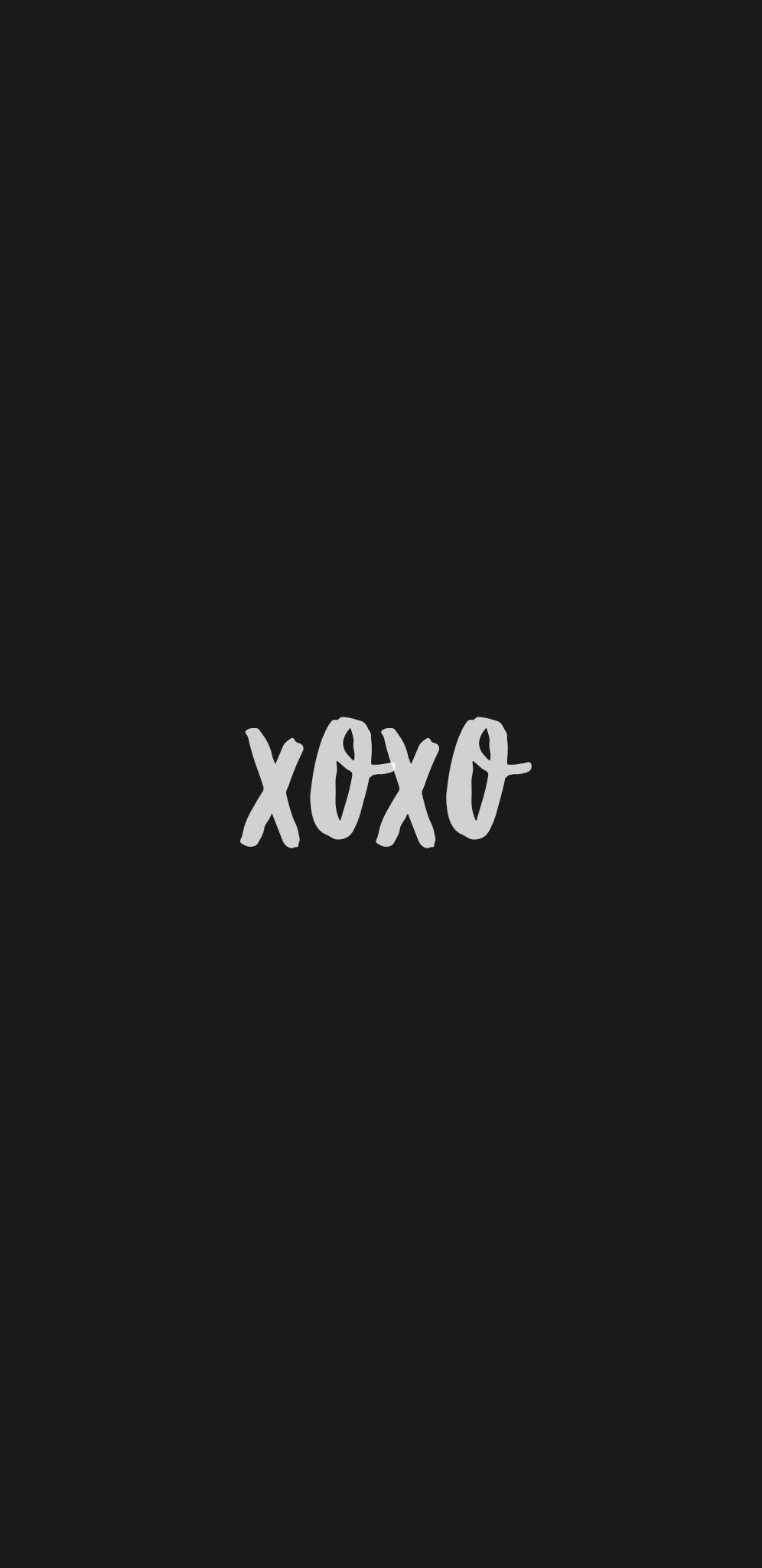wallpaper hd minimal black white iphone android phone smartphone background xoxo