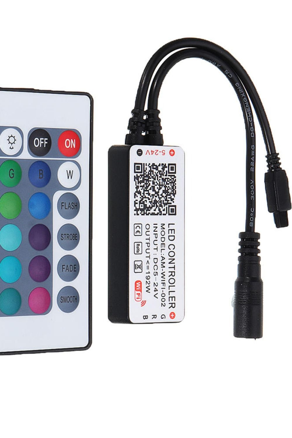 Dc524v wifi smart app music voice control 4pin dimmer