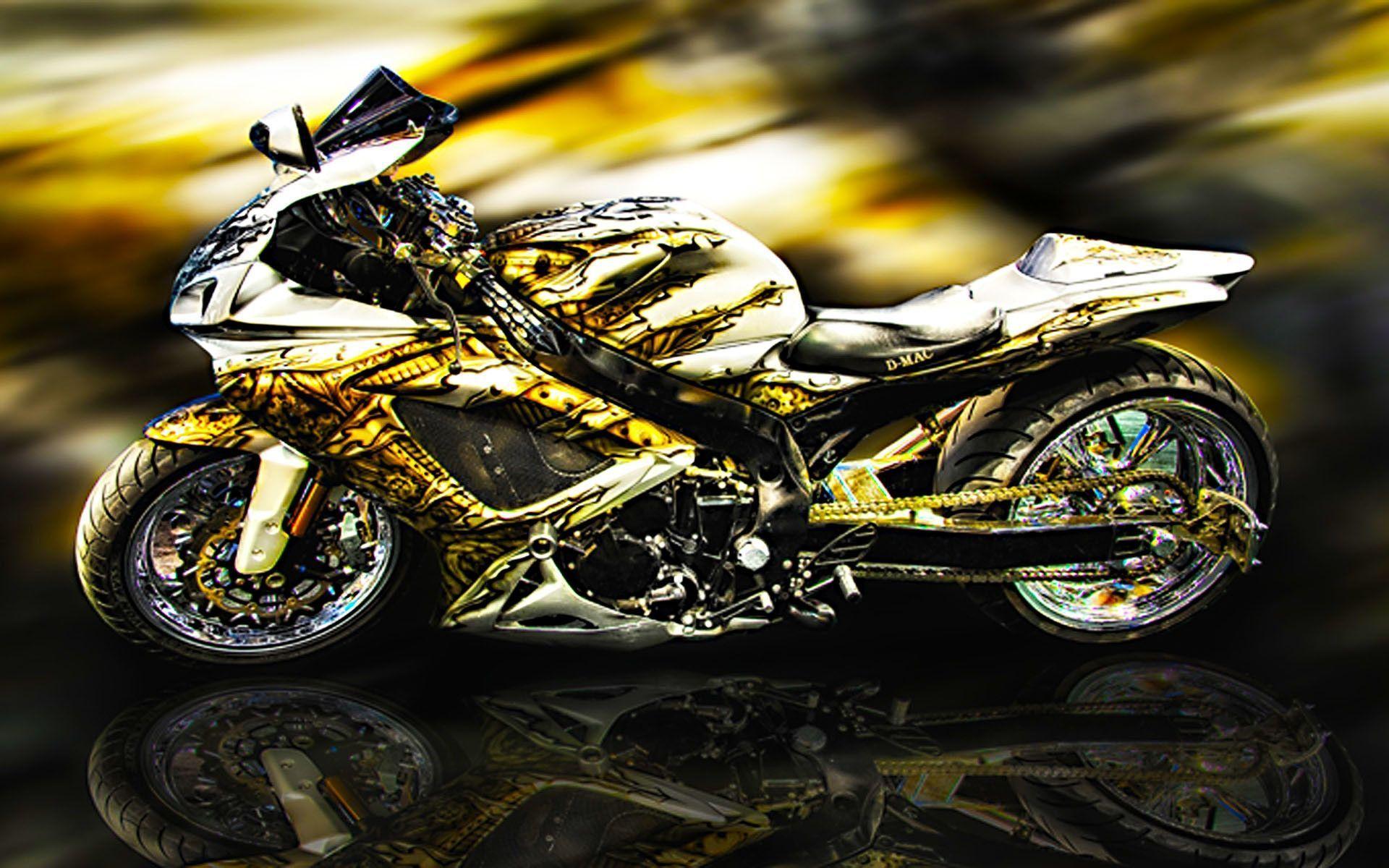 Cool Motorcycle Wallpapers Wallpaper Cave Con Imagenes Motos