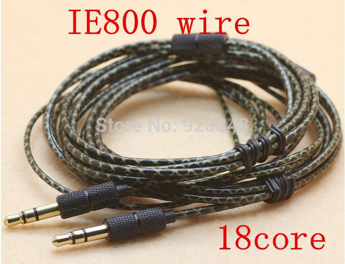 IE800 wire DIY earphone cable Silver plated wire Heart of Ocean Wire ...