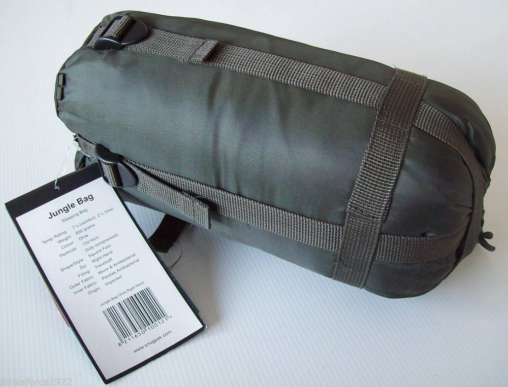 New Jungle Sleeping Bag compression sack Light Weight