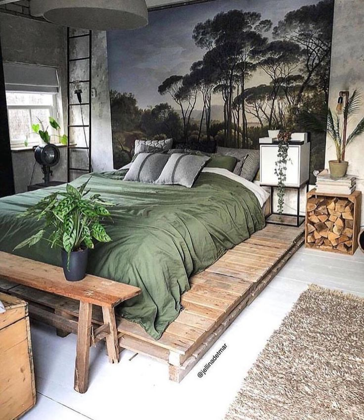 Home Interior Design — Bohemian style bedroom in Kollam, Netherlands. - #bedroom #bohemian #Design #Home #interior #Kollam #Netherlands #Style #bedroomapartment