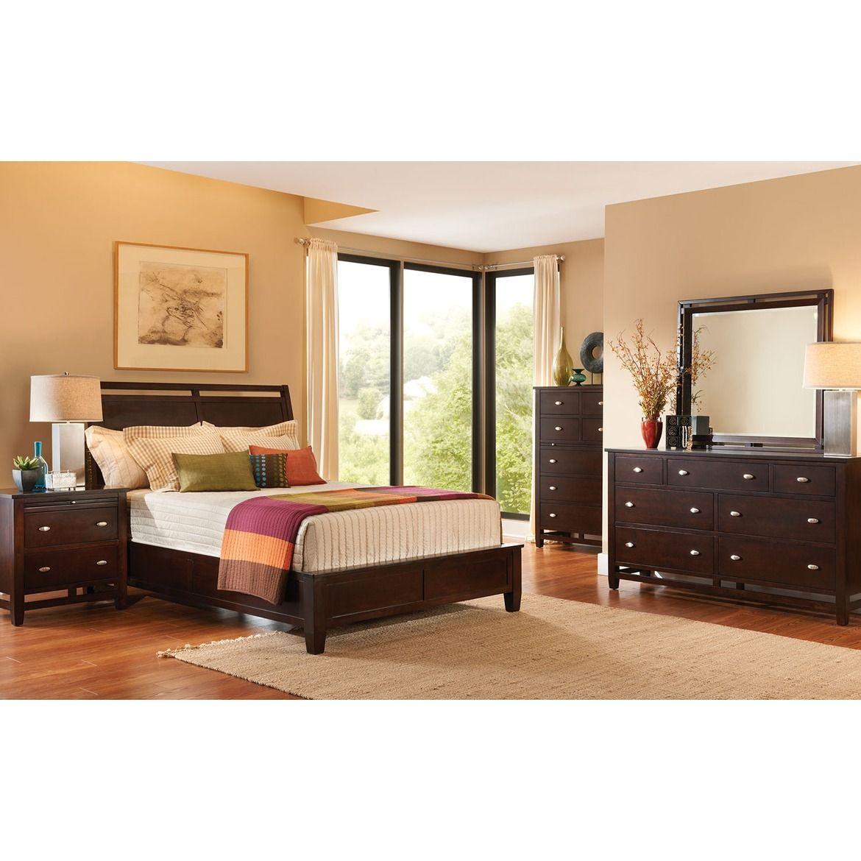 Rockland 4 Piece Queen Bedroom Set Merlot Bedroom Panel King Bedroom Sets Bedroom Sets Queen