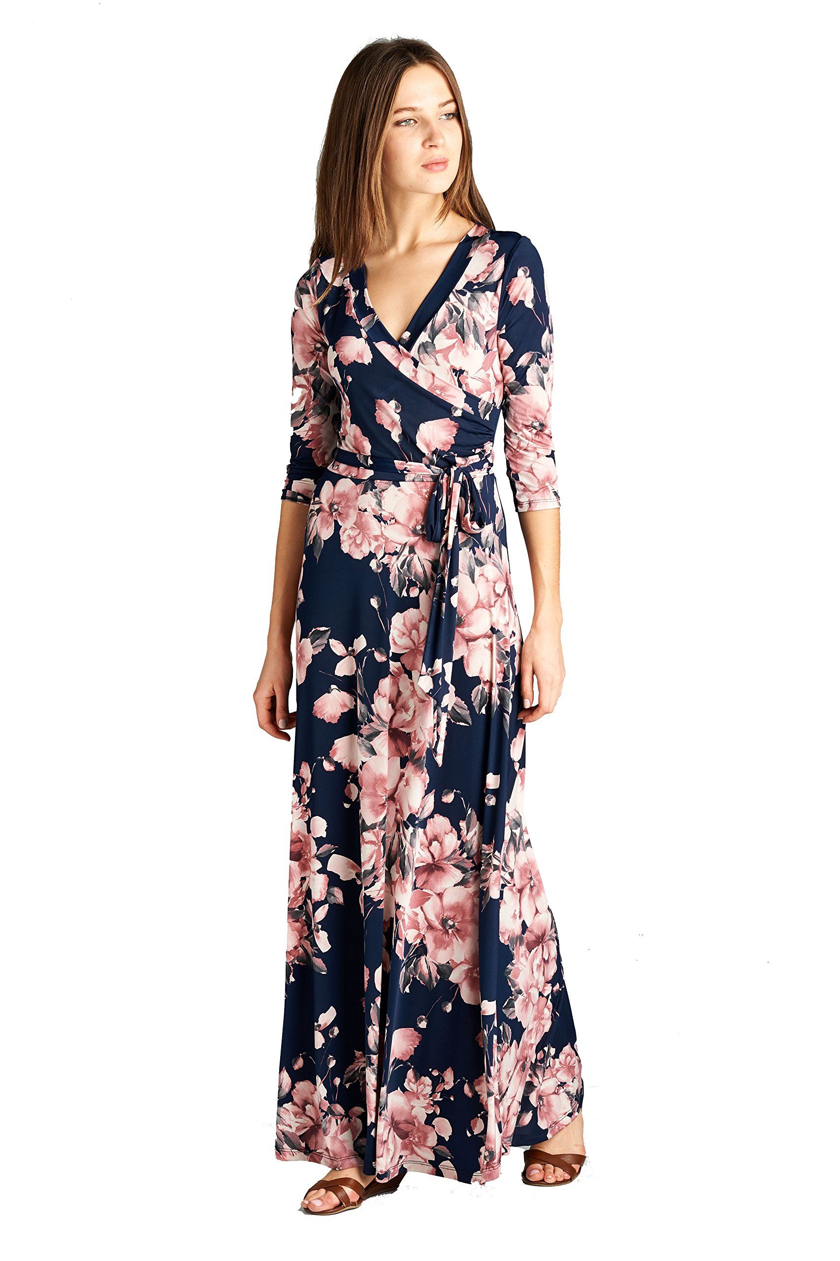 On trend womenus paris bohemian sleeve long maxi dress xlarge