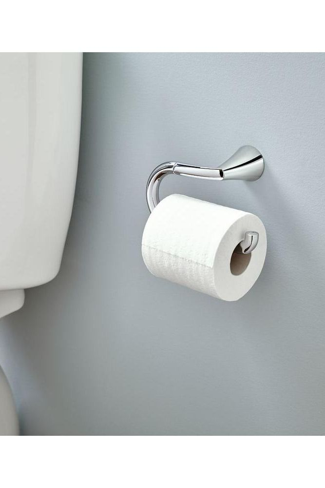 Pro Fit Installation System Eliminates Set Screws For Faster More Durable Mounting Of This Pen Style Toilet Paper Hold Toilet Paper Holder Toilet Paper Toilet