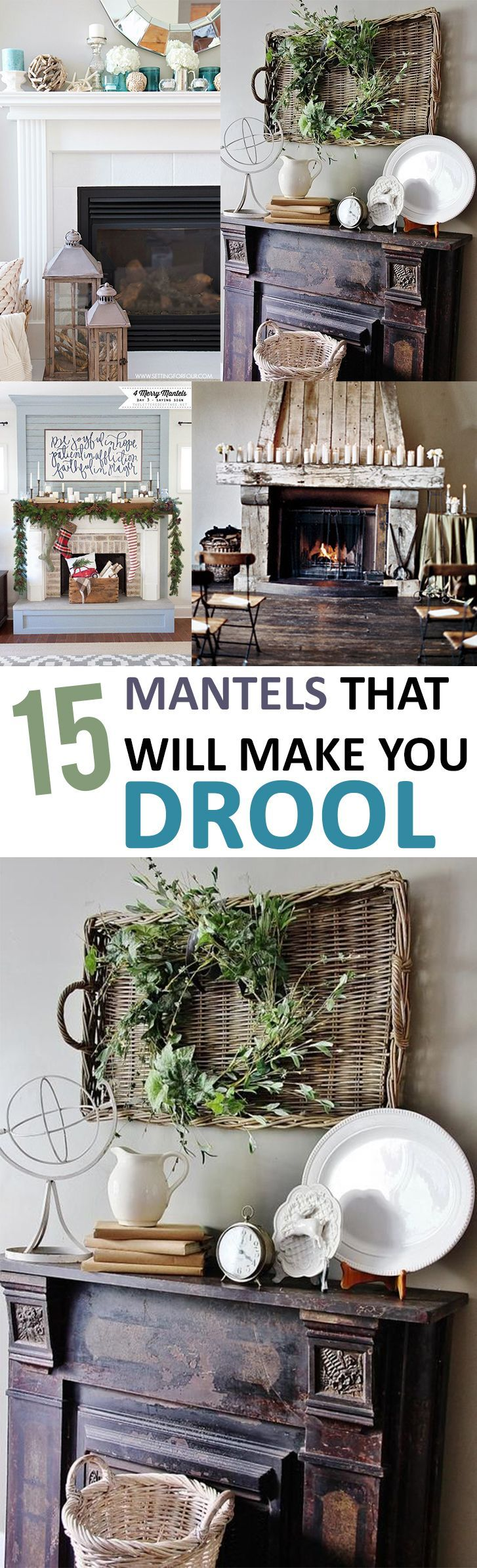 Get your creative juices flowing with these incredible mantel decor ideas.
