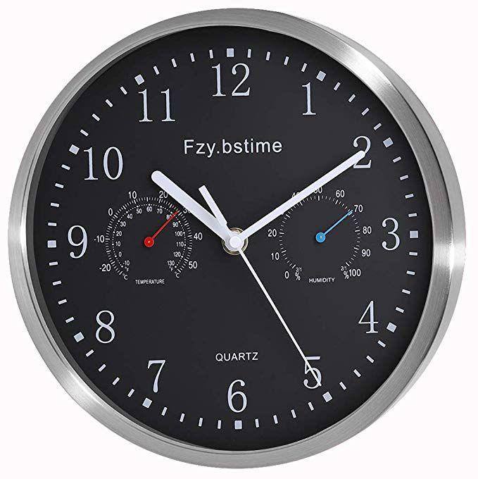 fzy bstim non ticking silent wall clock battery operated on wall clocks battery operated id=96896