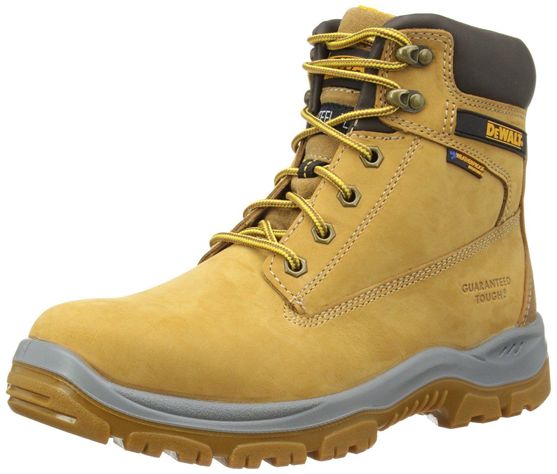 DeWALT Mens Titanium Safety Boots Honey