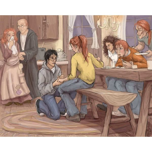 Harry And Ginny Liked On Polyvore Featuring Harry Potter