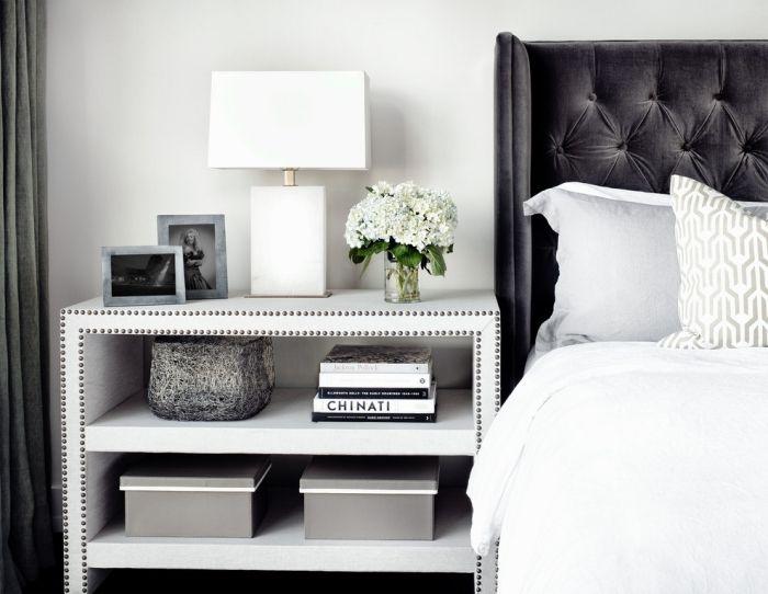 Die Details bei der Schlafzimmer Einrichtung Nachttischlampe im Fokus - schlafzimmer einrichtung nachttischlampe
