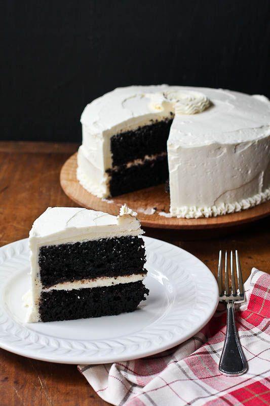 Chocolate Cake With Vanilla Buttercream Frosting Vanilla