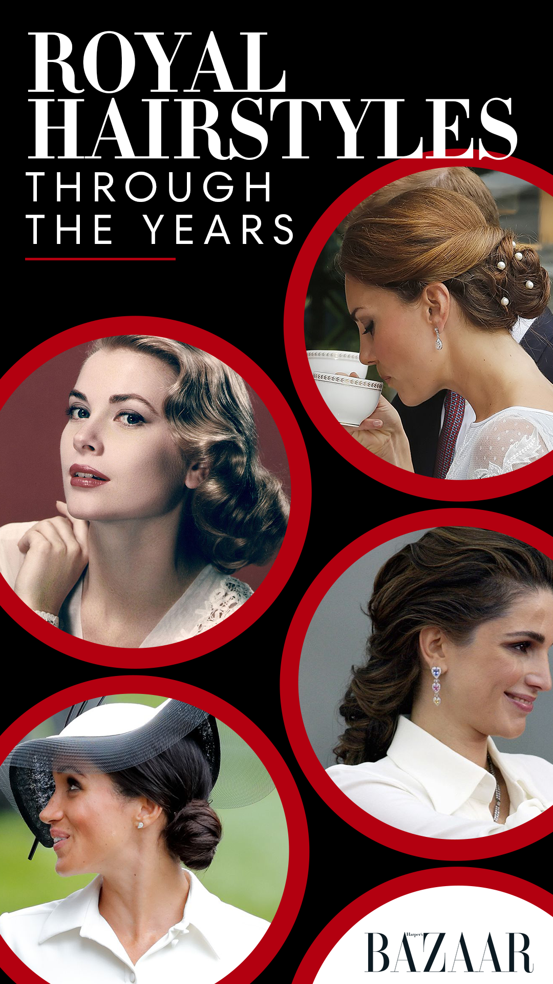the best royal hairstyles through the years | created by ads
