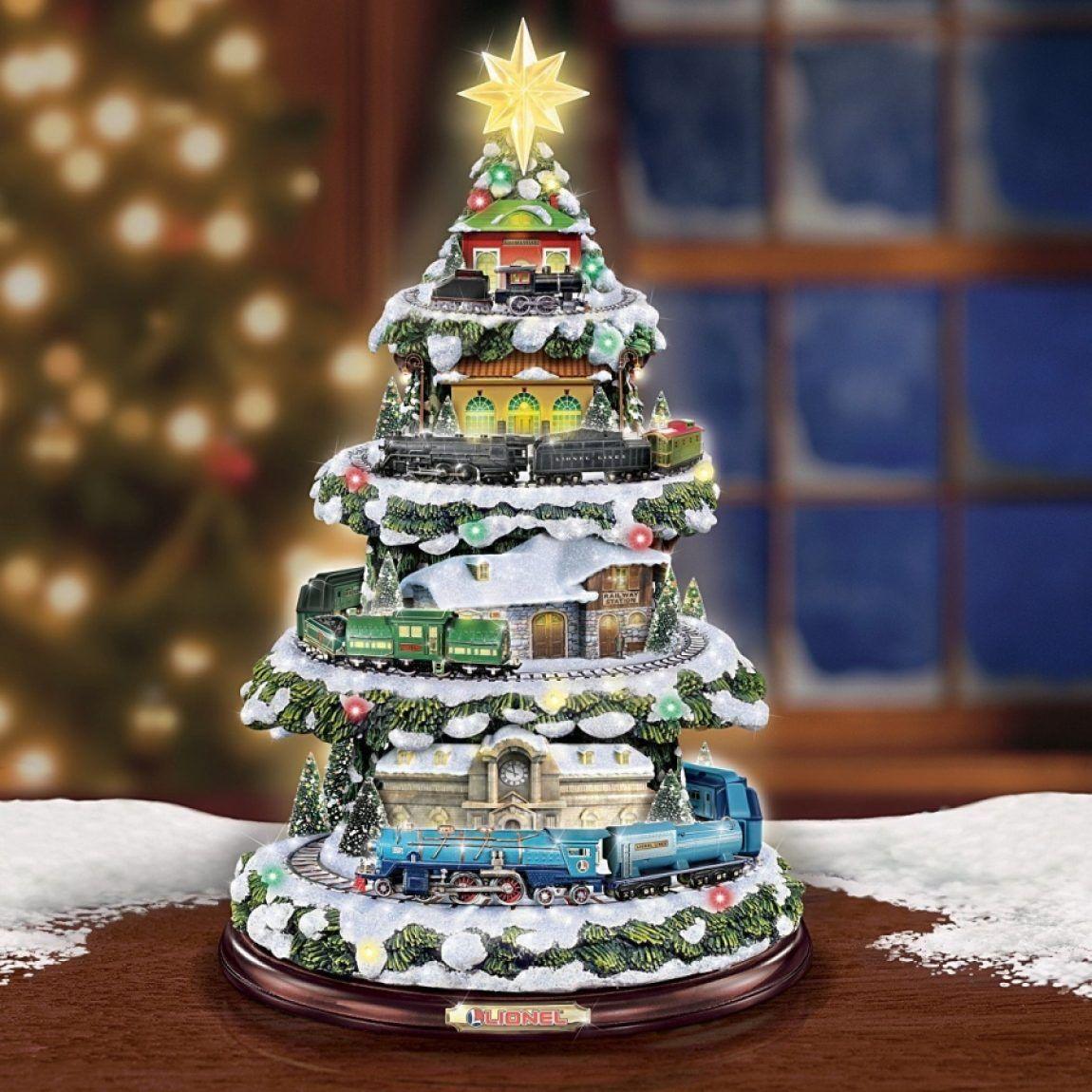 Christmas Train Light Up Christmas Tree With Sound Christmas Train Christmas Tree Train Light