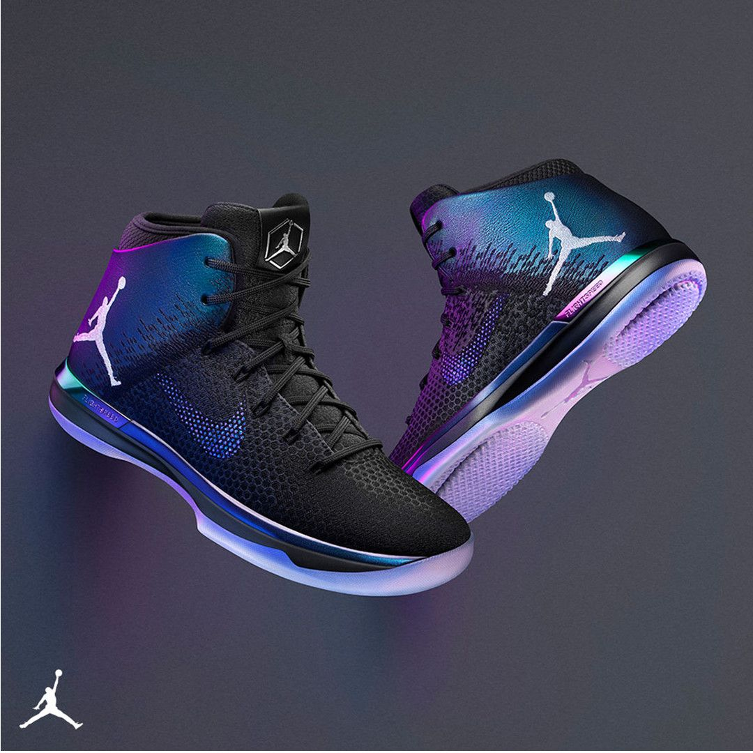 56b847d02d568 Add the iridescent AJ XXXI 'All-Star' to your lineup. | Jordan | Air ...
