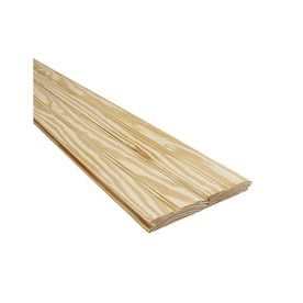 Southern Yellow Pine Pattern Stock Board Common 1 In X 4 In X 8 Ft Actual 0 75 In X 3 5 In X Southern Yellow Pine Installing Hardwood Floors Faux Hardwood