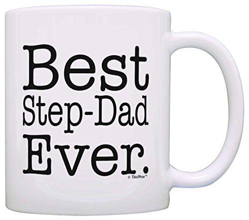 Stepdad The Man Myth Legend Gift Birthday Mug Idea
