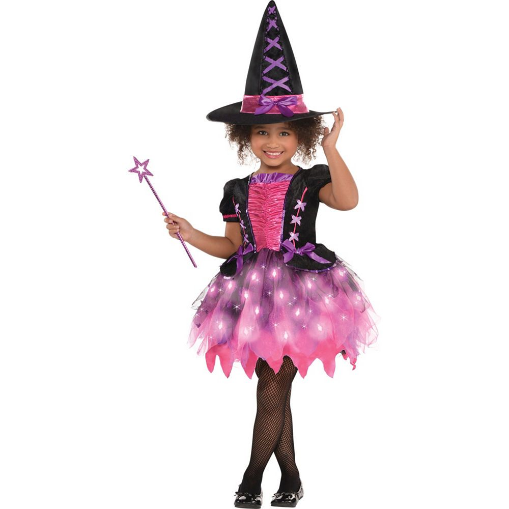 girls light-up sparkle witch costume in 2018 | costumes | pinterest
