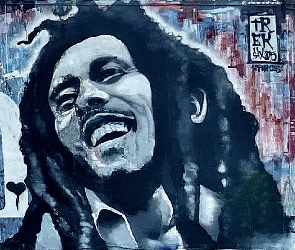 Bob Marley Bob Marley Marley Street Art