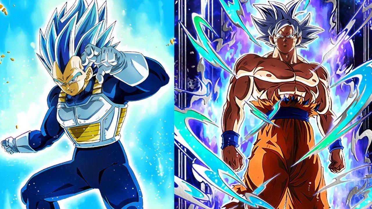 Mui Goku And Ssbe Vegeta Dragon Ball Wallpapers Anime Dragon Ball Super