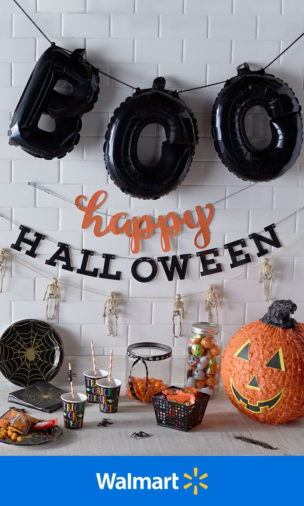 Get in the October spirit today and cover your home in eerie spider webs, playful bats, and pumpkins of all shapes and sizes. With loads of decor under $30, you can achieve floor-to-ceiling spookiness in a cinch