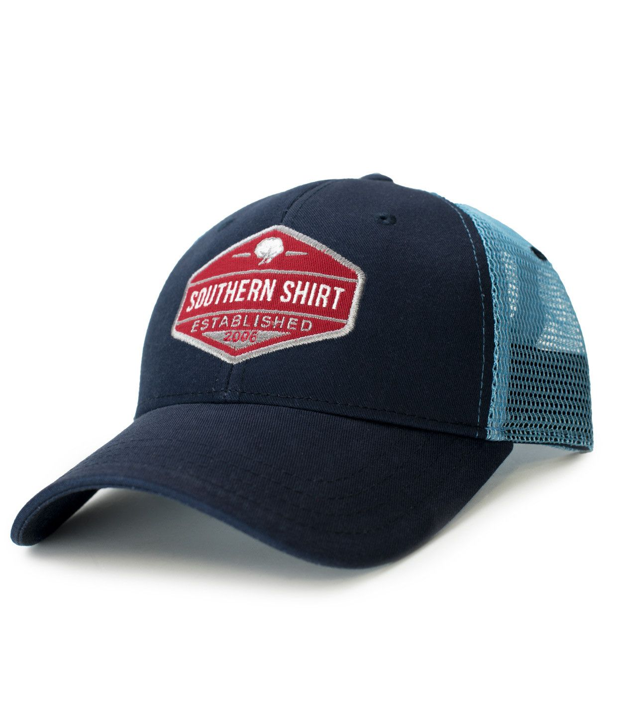 cf29e13ca2a60 Trademark Badge Mesh Hat