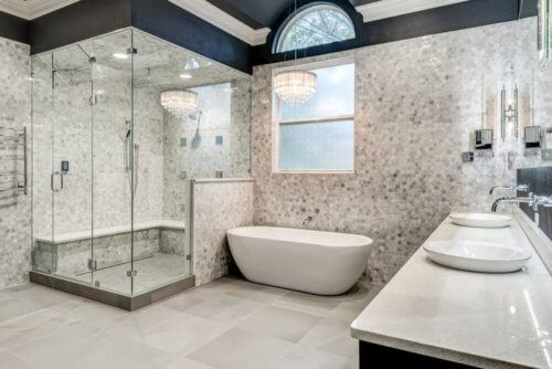 luxury master bath renovation bathroom design ideas pinterest