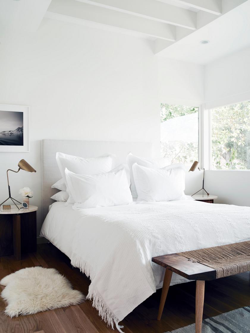 Inspiring Spaces Bedroom Interior White Bedroom Cozy House Interior