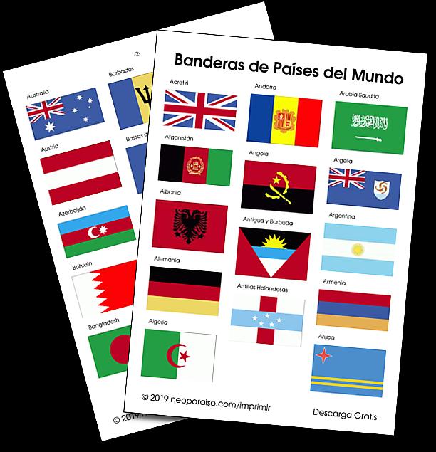 Todas Las Banderas De Paises Del Mundo Con Imagenes Banderas