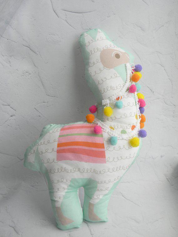 Llama Pillow Llama Stuffed Animal Alpaca Toy Stuffed Llama Toy Boho