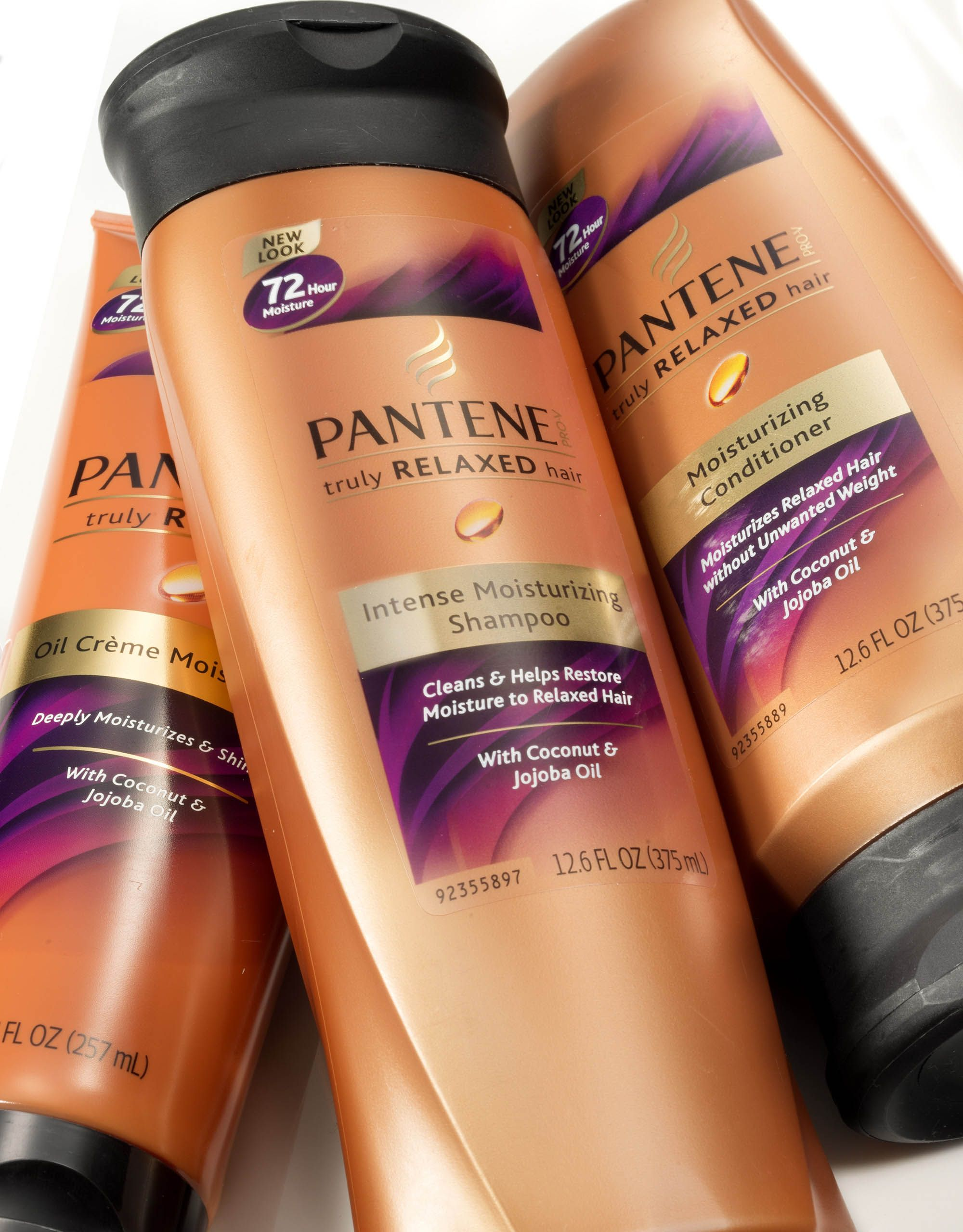 Pantene Intense Moisturizing Shampoo With Coconut Oil Jojoba Oil