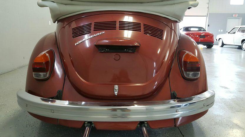 1972 Volkswagen Beetle Convertible 5 Convertible