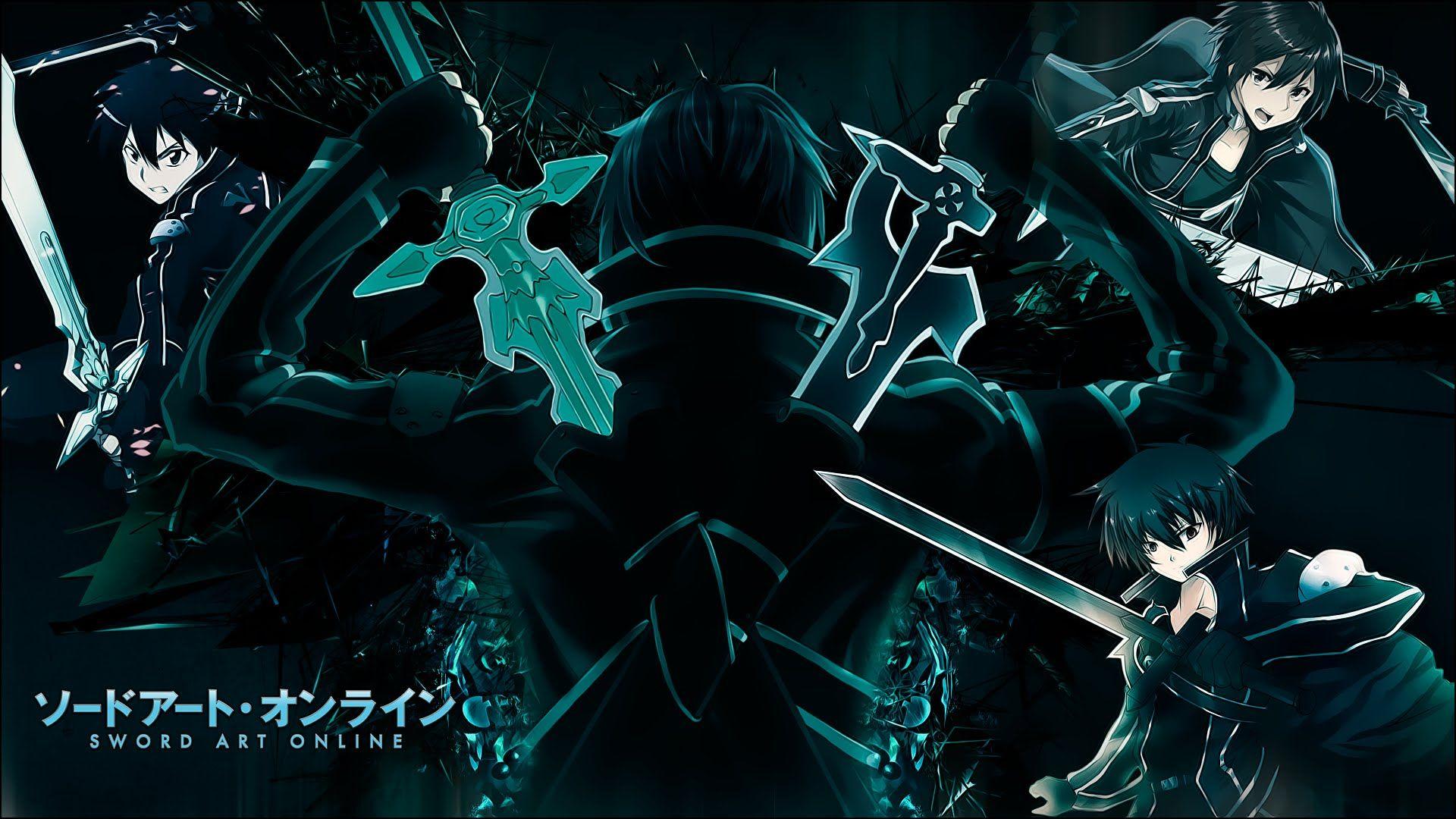 Sword Art Online Amv Kirito Sao Alo Ggo Sword Art Online Wallpaper Sword Art Online Sword Art Online Kirito