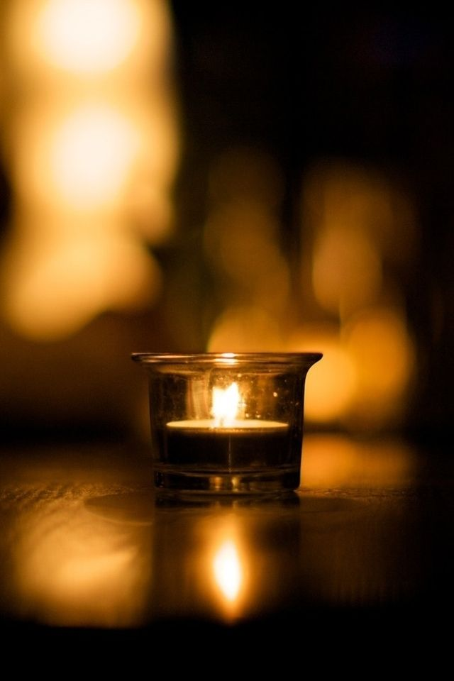Tap And Get The Free App Girlish Burning Candle Black Dark Night Fire Romantic For Girls Hd Iphone 4 Wallpaper Black Candles Candle Jars Burning Candle