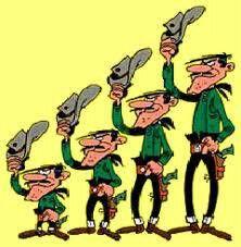 Los Hermanos Dalton Lucky Luke Dibujos Animados Dibujos