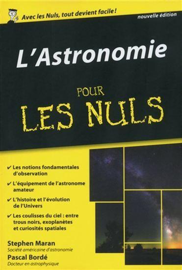 Astronomie Pour Les Nuls L N éd Par Bordé Pascal Maran Stephen P Pdf Books Books Online Audio Books
