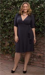 Plus Size Julieanne Wrap Dress-Sale