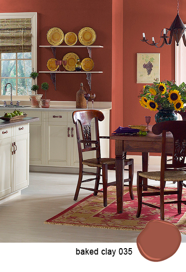 Paint Color For Dining RoomBenjamin Moore Baked ClayLove It Such