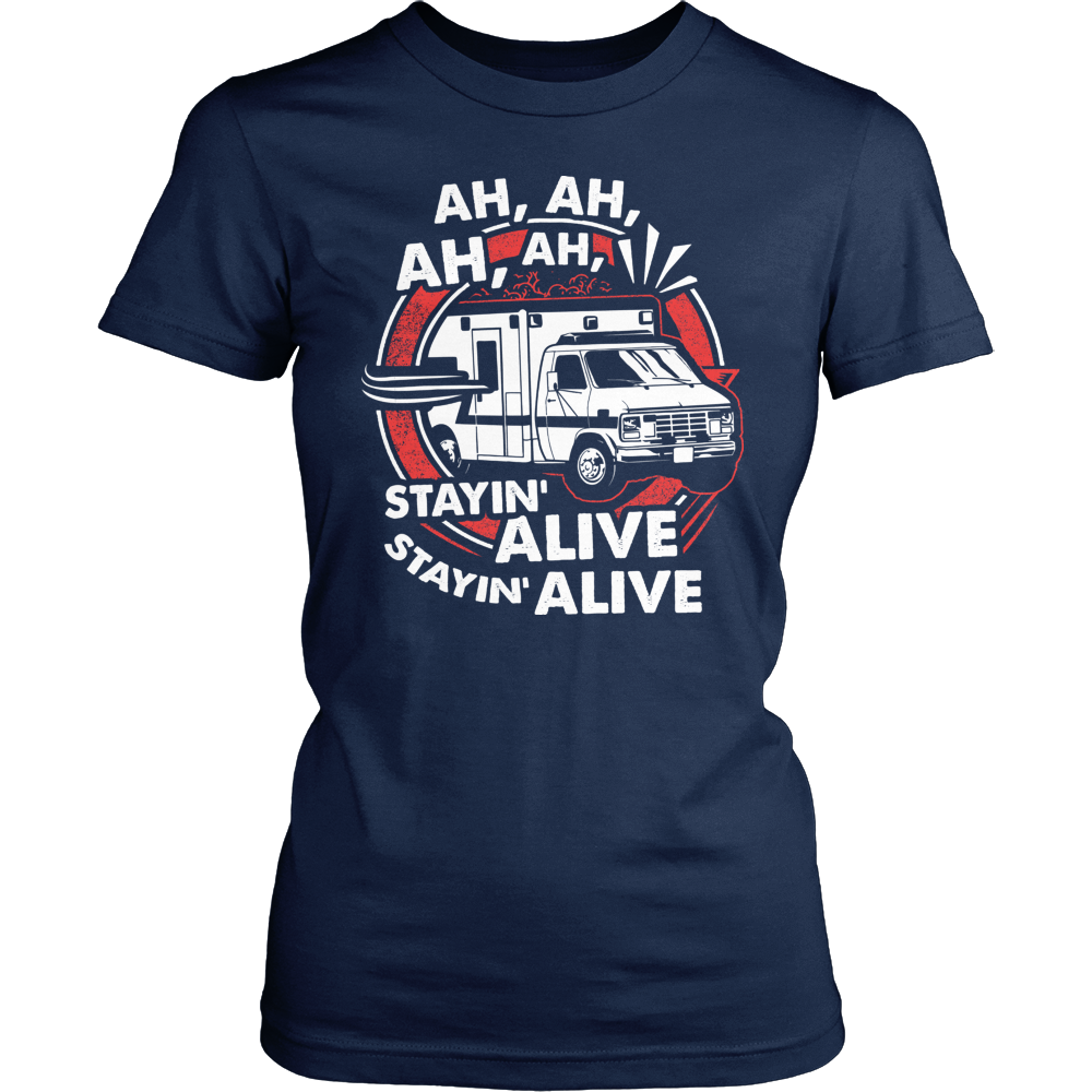 EMT T-Shirt Design - Staying Alive  2b45650a496e