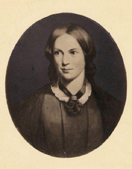 Шарлотта Бронте, около 1840 г. | Фото: mentalfloss.com ...