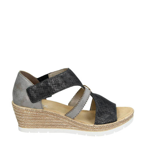 Rieker espadrilles antraciet in 2019 | Products