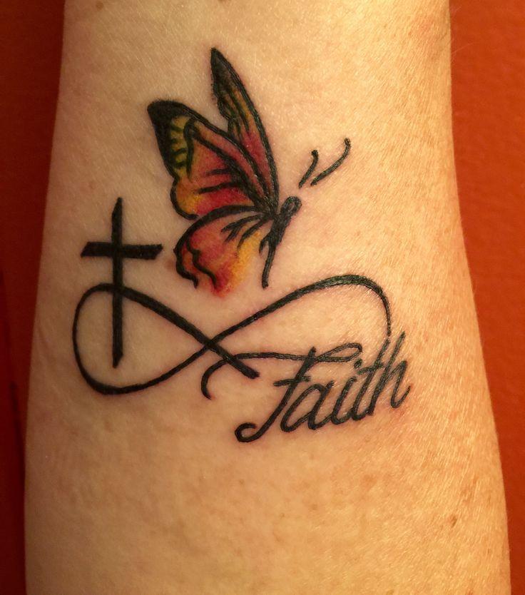 Faith Love And Hope Bracelet Tattoo On Ankle: Infinity Tattoos Faith Wrist