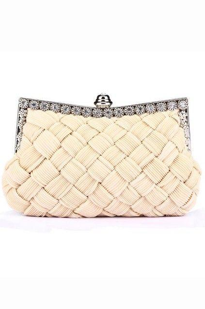 Diamond Design  Knitted Handbag