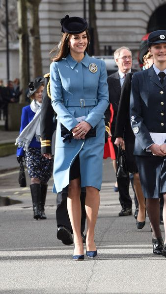 Kate Middleton Photos - Duchess of Cambridge Marks 75th Anniversary of RAF Air Cadets - Zimbio