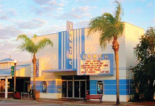 Beach Theatre On Corey Avenue St Pete