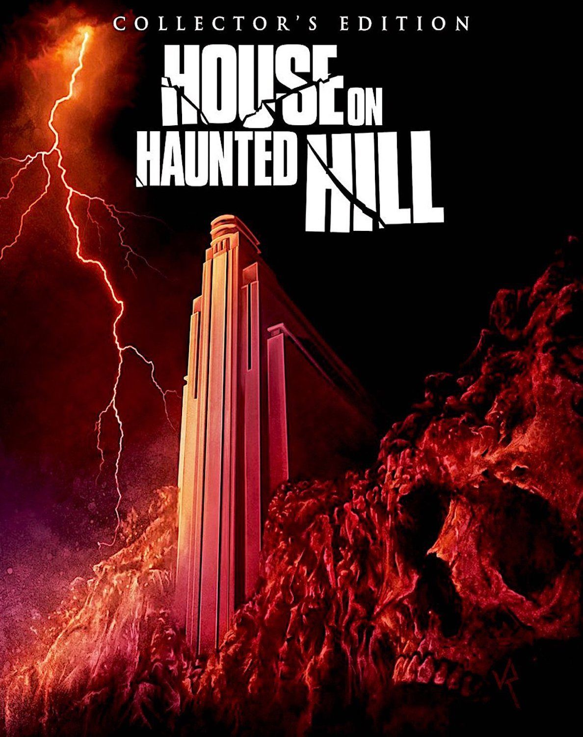 HOUSE ON HAUNTED HILL COLLECTOR'S EDITION BLU-RAY SLIPCOVER